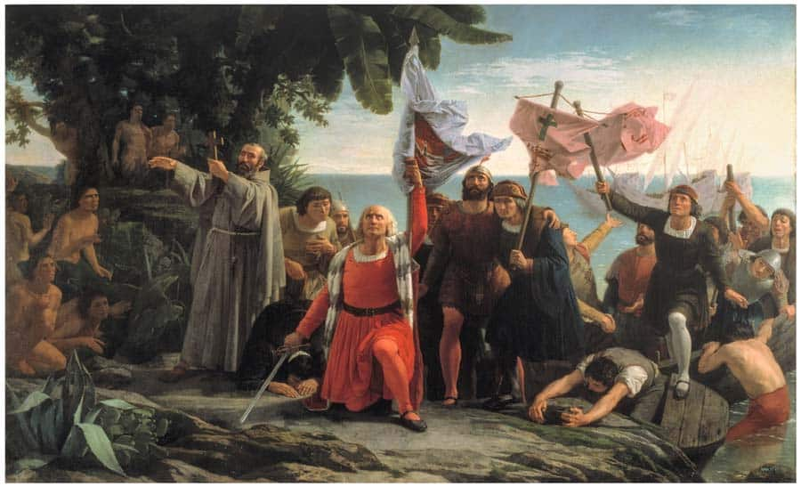 Cristobal Colon descubrimiento de America