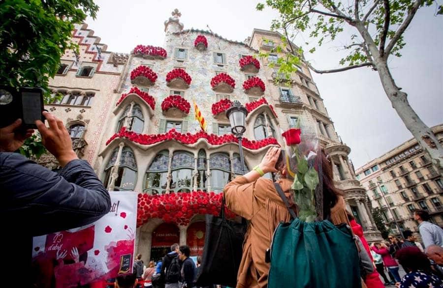 La Casa Batllo en Sant Jordi