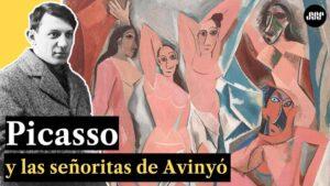 Pablo Picasso y las señoritas de Avignon