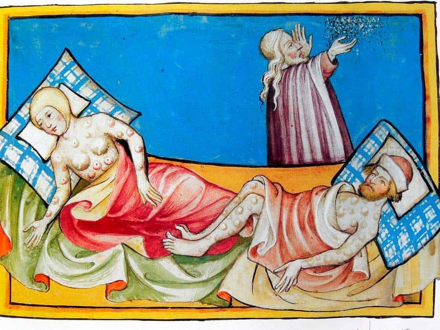 la peste negra en barcelona enfermedad
