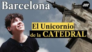 unicornio-en-la-catedral-de-Barcelona