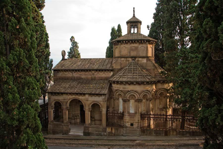 Panteon Ametlle Cementerio de Montjuic