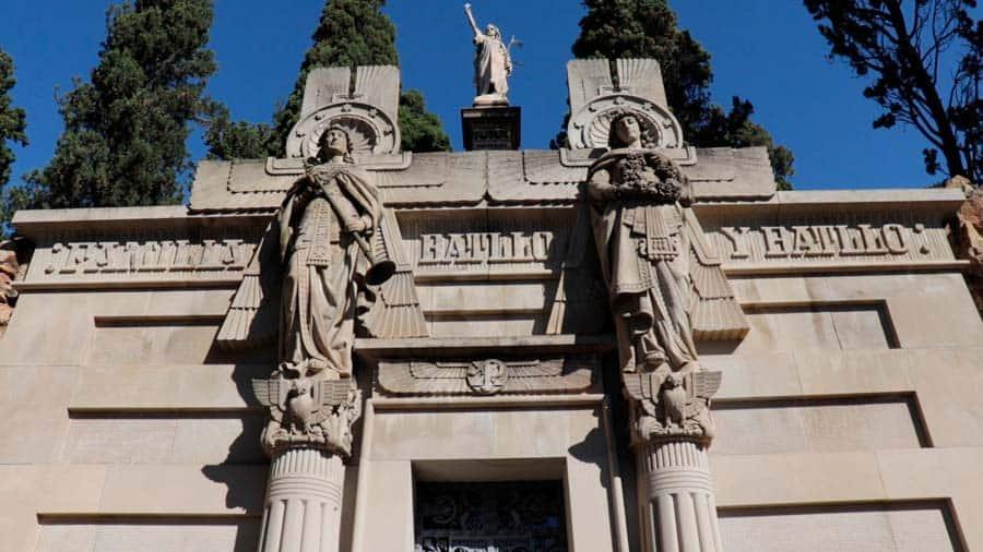 Panteon Can Batllo Cementerio de Montjuic