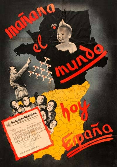 carteles guerra civil española bando nacional