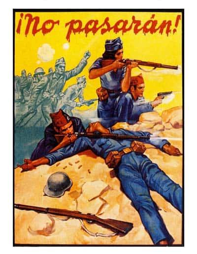 carteles guerra civil española bando republicano