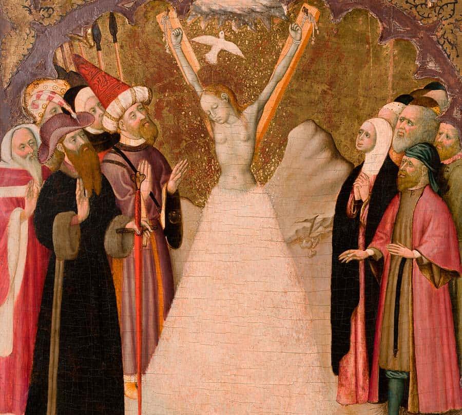 cruz santa eulalia