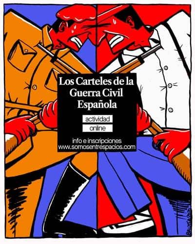 experiencia los carteles de guerra civil española