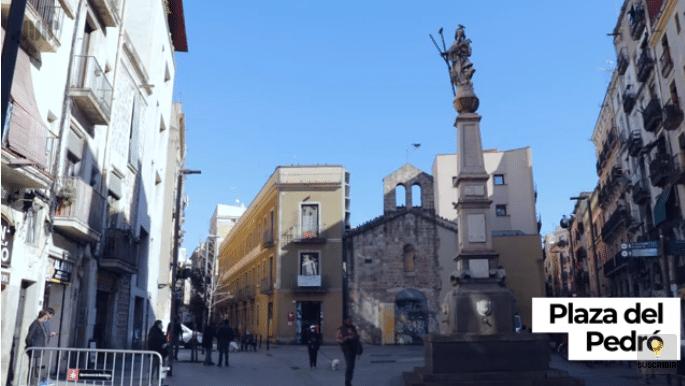 plaza del pedro santa eulalia