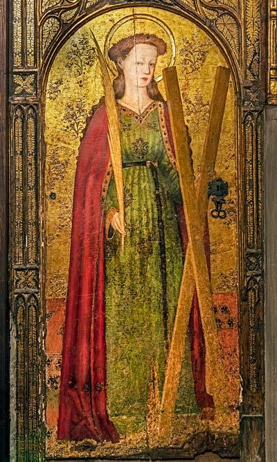santa eulalia y los 13 martirios