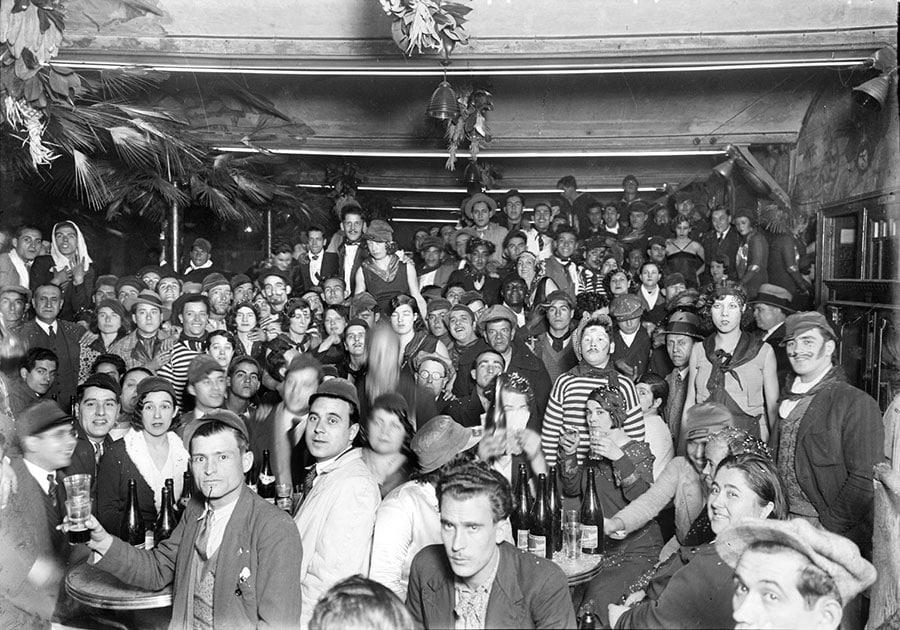barrio chino de barcelona la criolla bar