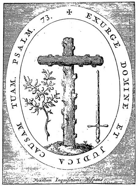 escudo santa inquisicion en Barcelona-7