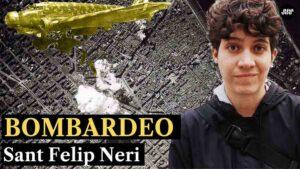 El bombardeo de la plaza de Sant Felipe Neri Guerra Civil