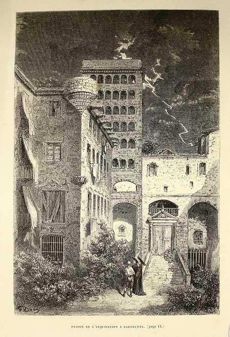 escudo santa inquisicion en Barcelona-2