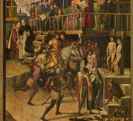 escudo santa inquisicion en Barcelona-4