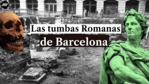 la necropolis romana en barcelona